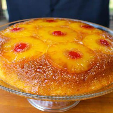 Grilled Pineapple Upside Down Cake Recipe | SideChef