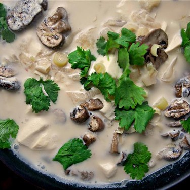 Thai Coconut Soup Recipe | SideChef