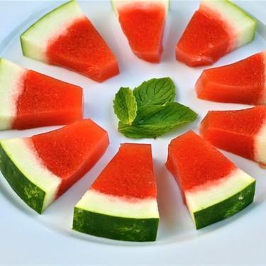 Watermelon Mint Jello Shots Recipe | SideChef