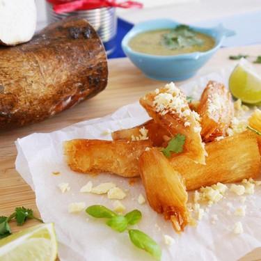 Fried Cassava Chips Recipe   SideChef