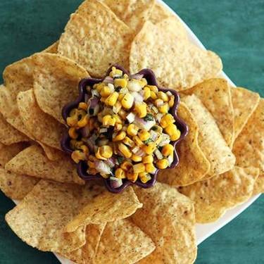 Charred Corn Salsa Recipe | SideChef