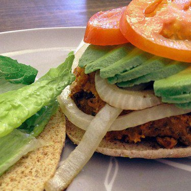 Sweet Potato Black Bean Veggie Burger Recipe | SideChef