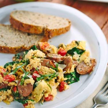 Breakfast Scramble with Italian Sausage Recipe | SideChef