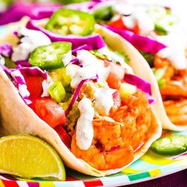 Shrimp Tacos with Cilantro Lime Sauce Recipe | SideChef