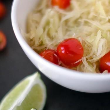 Thai Green Papaya Salad Recipe | SideChef