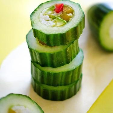 Cucumber Sushi Rolls Recipe | SideChef