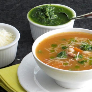 Ham and Vegetable Soup with Pistou Recipe   SideChef