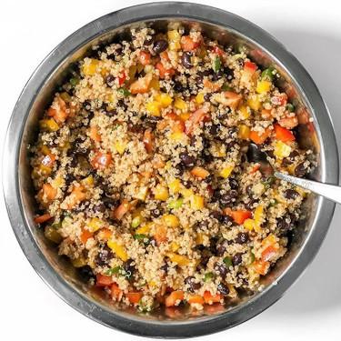 Smoky Quinoa and Black Bean Salad Recipe | SideChef