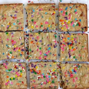 Birthday Cake Blondies Recipe   SideChef