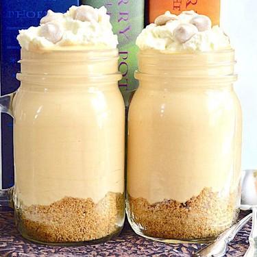 No-Bake Butterbeer Cheesecake Jars Recipe | SideChef